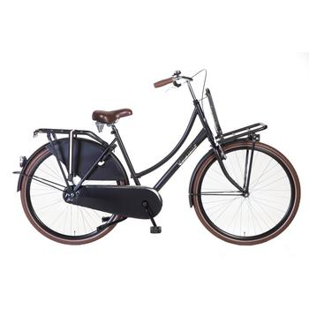 Popal Daily Dutch Basic 50cm matzwart Transportfiets