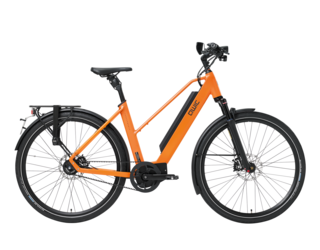 Qwic E-bike Performance MA11 Speed Dames Middenmotor Orange