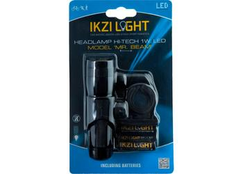 IKZI koplamp Mr Beam 1w led alu