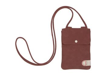 Cortina Tunis Phone Bag canv/leather Cyclaam