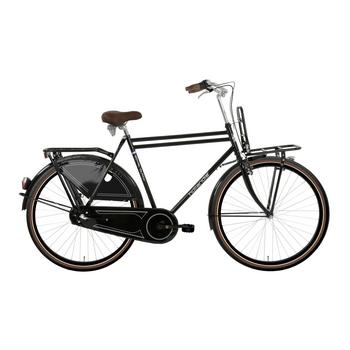 Hollandia Royal Dutch N3 zwart-bruin 52cm Heren transportfiets