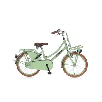 Popal Daily Dutch Basic 20inch pistache groen Transportfiets