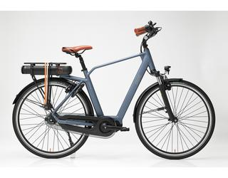 Qwic E-bike Premium MN8 Heren Middenmotor Steel Blue