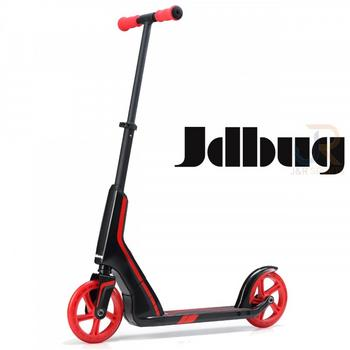 JD Bug Smart 185 Pro Commute zwart-rood vouwstep
