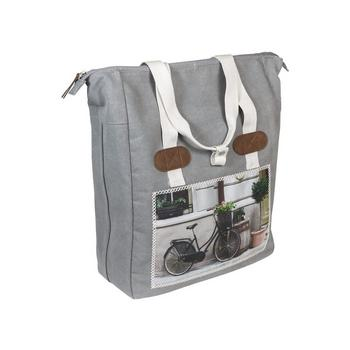 Shopper cyclo grijs