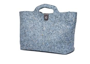 Cortina Shoppertas Sofia blauw recycled
