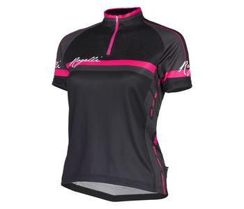 Ds Wielershirt KM Manica Rosa Zw/Roze XL
