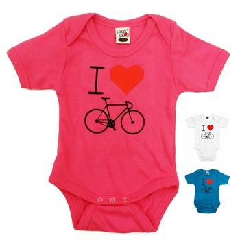 Romper Ilovecycling Wit