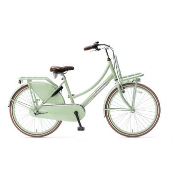 Popal Daily Dutch Basic Plus 24inch pistache groen Transportfiets