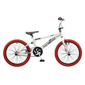 Rooster Big Daddy 20inch wit-rood Freestyle BMX