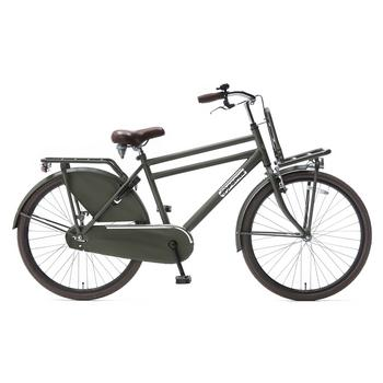 Popal Daily Dutch Basic Plus 26inch army-green Jongens Transportfiets