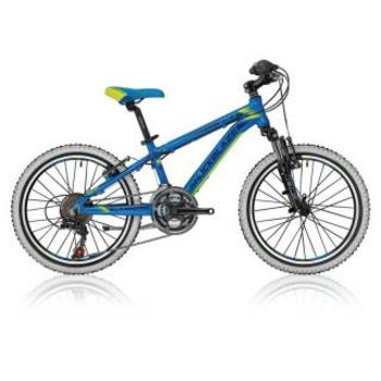Shockblaze Warrior 20inch blauw Mountainbike
