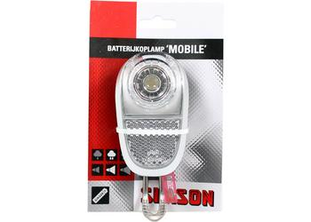 Simson koplamp white led batt