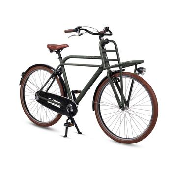 Johnny Loco Urban Cruiser tarpaulin grey herenfiets