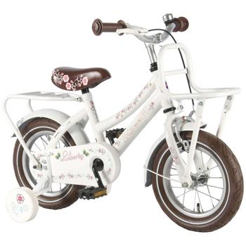 Yipeeh Liberty Urban Transport 12inch wit meisjesfiets