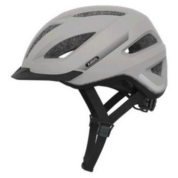 Abus Pedelec+ L silver high-speed e-bike helm