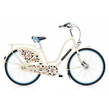 Electra Amsterdam Fashion 3i cream bloom damesfiets