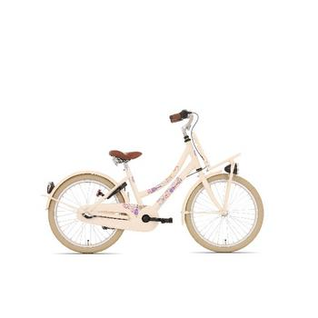 Bike Fun Love & Peace N3 20inch creme meisjesfiets