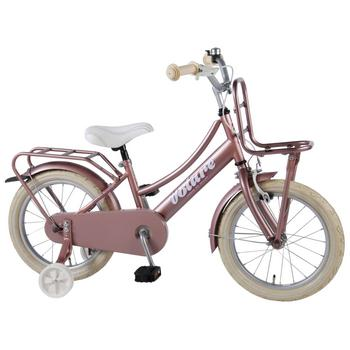 Volare Excellent Transport 16inch old-pink meisjesfiets