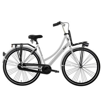 Rivel Vermont N3 mat chroom 49cm Dames transportfiets