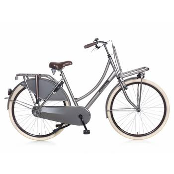 Popal Daily Dutch Basic 57cm titanium Transportfiets