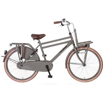 Popal Daily Dutch Basic 24inch bruin jongens transportfiets