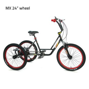 Mission MX 24inch 6-speed volwassen driewieler