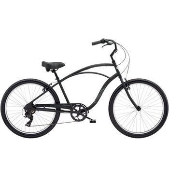 Electra Cruiser 7D Tall Men's 26inch black herenfiets