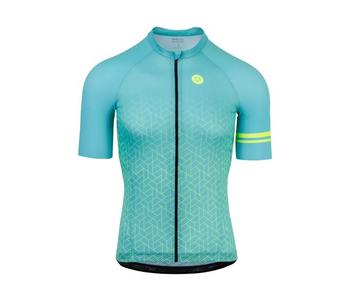 Agu shirt km high summer aqua s