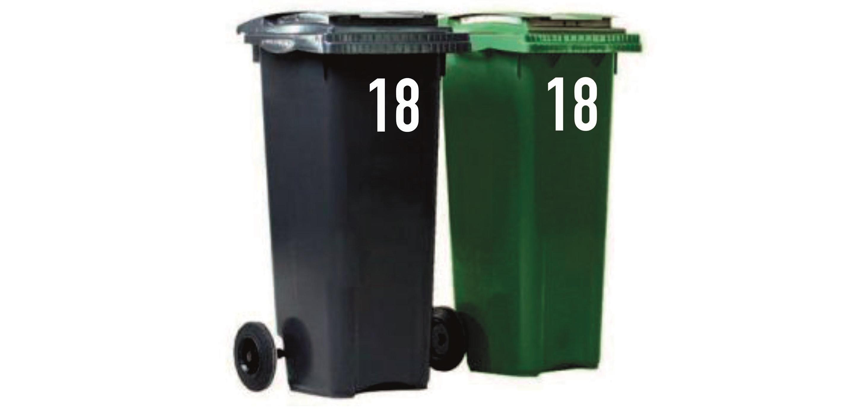 Vaak Huisnummer stickers voor op containers - Duropanel ZX72