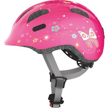 Abus Smiley 2.0 M pink butterfly kinder helm