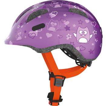 Abus Smiley 2.0 M purple star kinder helm