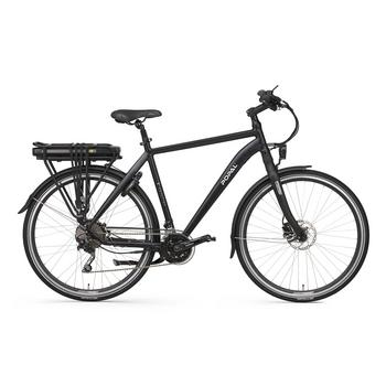 Popal E-volution 15.0 matt-black 57cm elektrische herenfiets