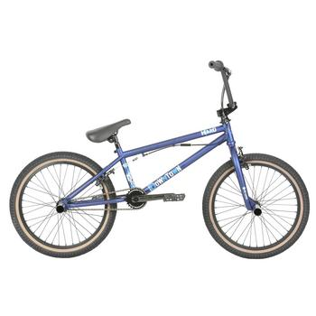 Haro Downtown DLX matte blue 20inch Freestyle BMX