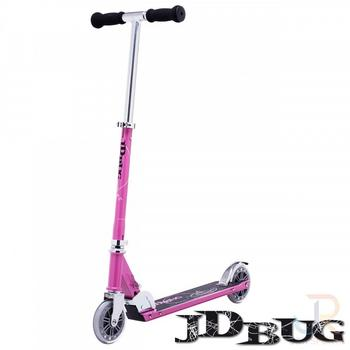 JD Bug Classic Street roze vouwstep