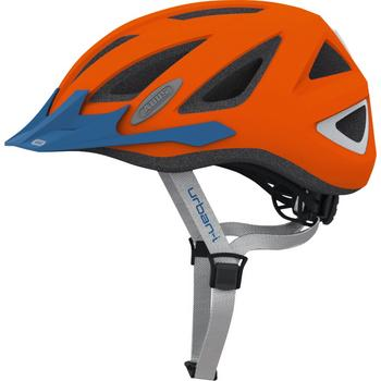 Abus Urban-I 2.0 L neon orange fiets helm