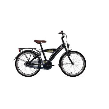 Bike Fun Urban 18inch zwart  jongensfiets