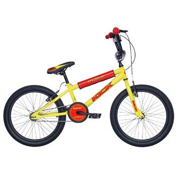 Magic Kick 18inch geel BMX