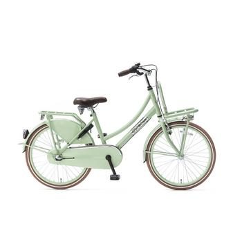 Popal Daily Dutch Basic Plus 22inch pistache groen Transportfiets