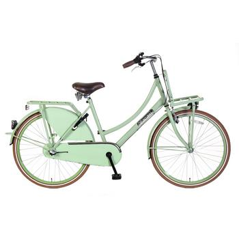 Popal Daily Dutch Basic Plus 26inch pistache groen Transportfiets
