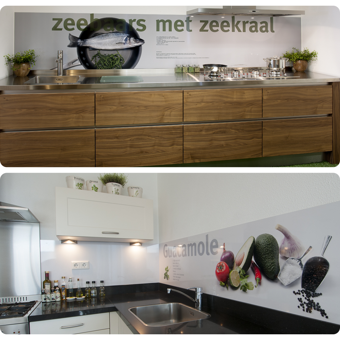 Rezepte auf Ihrer Küchenrückwand | Pimp Your Kitchen