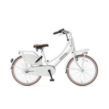 Popal Daily Dutch Basic Plus 22inch wit Transportfiets