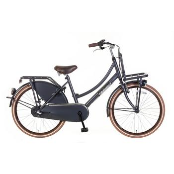 Popal Daily Dutch Basic Plus 24inch petrol blue Transportfiets