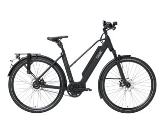 Qwic E-bike Performance MA11 Speed Dames Middenmotor matte Black
