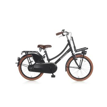 Popal Daily Dutch Basic 20inch matzwart transportfiets