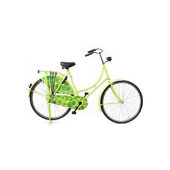 Avalon Omafiets Basic lime flower 57cm