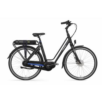 Popal E-volution 10 matt-black 49cm elektrische damesfiets