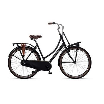 Altec Dutch N3 57cm matzwart Dames Transportfiets