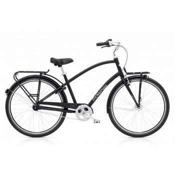 Electra Townie Commute 7i EQ satin black herenfiets