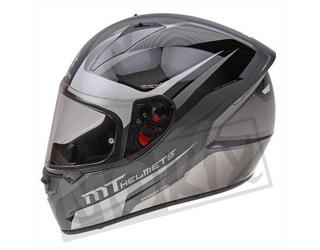 Helm STINGER Divided MT Integraal Grijs Mat  S, M, L, XL